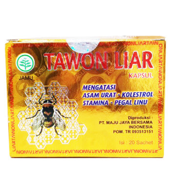 Tawon Liar, 100% Natural Herbs with Extract of Wild Bee ...