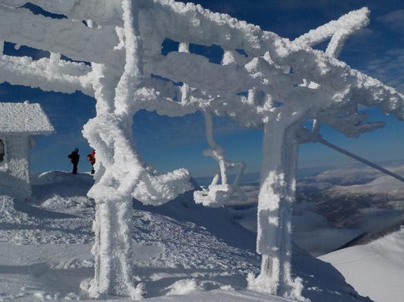 Αχαΐα: Έχει βουλιάξει από το χιόνι το Χιονοδρομικό - Δείτε εικόνες από την Στύγα