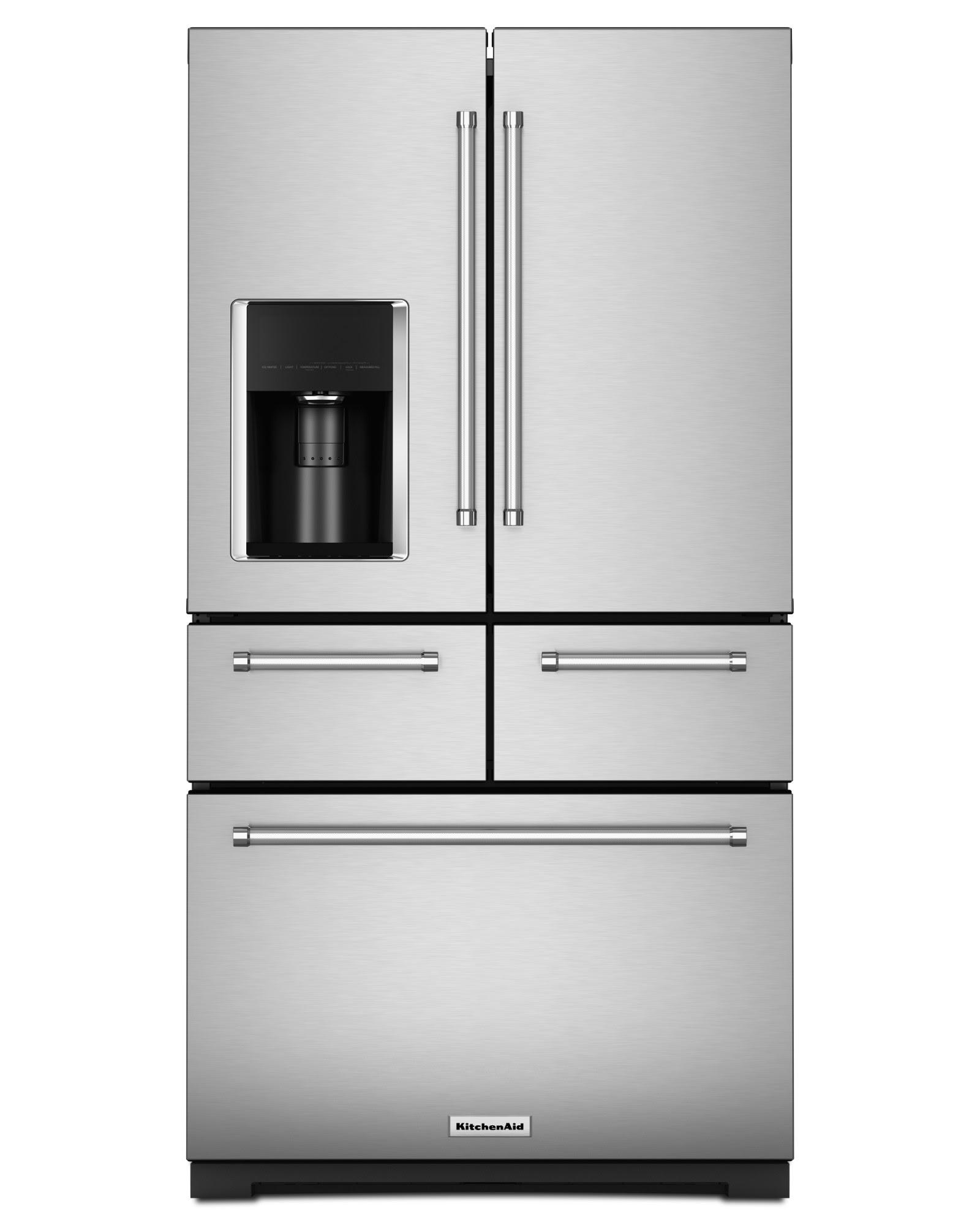 """UPC KitchenAid KRMF706ESS 25 8 cu ft 36"""" Multi Door"""