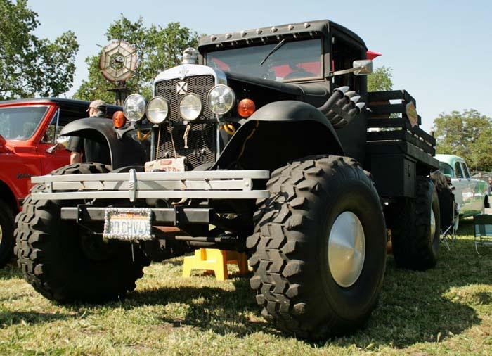 Scary Black Monster Truck