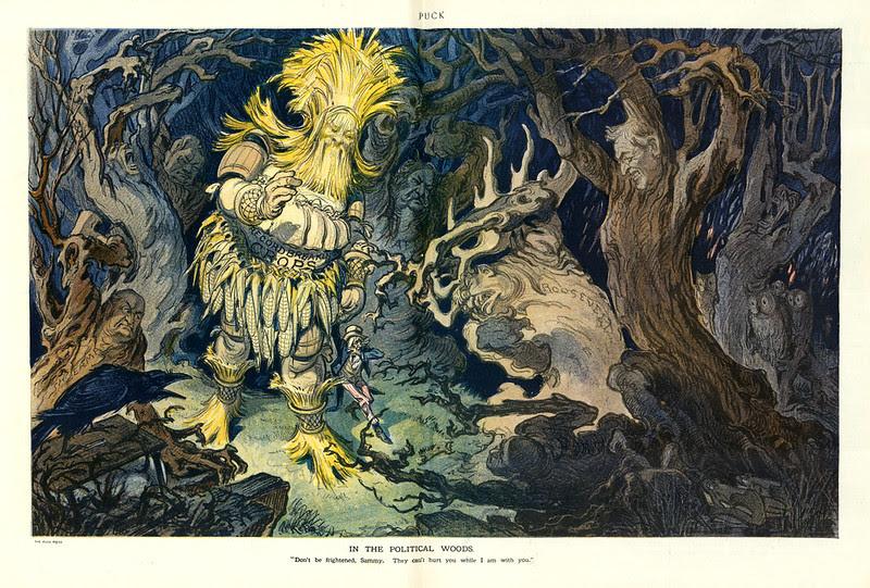Udo J. Keppler - Illustration in Puck, v. 72, no. 1859 (1912 October 16), centerfold