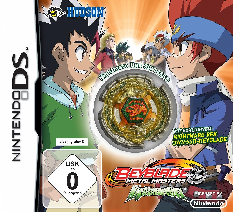 Nintendo DS Spiele Beyblade Metal Masters Nightmarerex ...