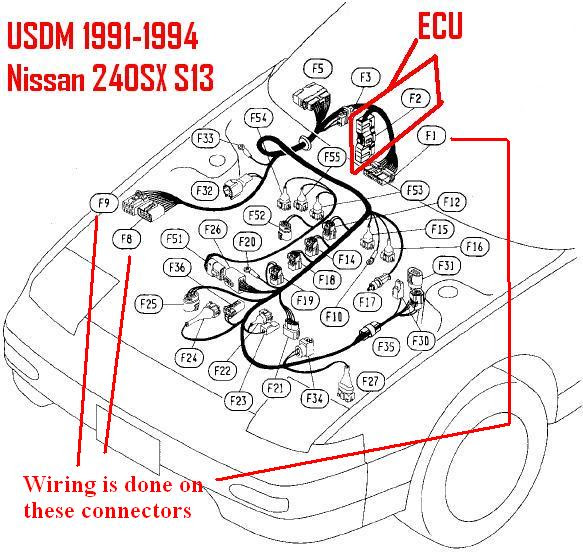 Ka24de Engine Harness Diagram