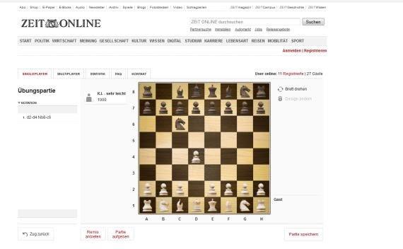 Schach Online Spielen Ohne Anmeldung Kostenlos Gegen Andere