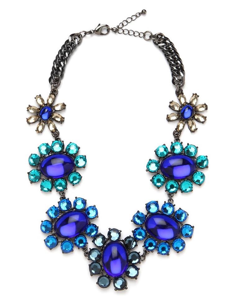 Royal Bloom Collar  Necklaces  #2dayslook #Necklaces #lily25789 #sunayildirim  www.2dayslook.com