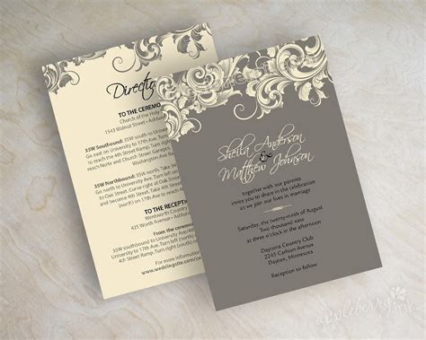 Victorian Wedding Invitations ~ Wedding Invitation Collection