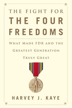 Cover image for Harvey Kaye's The Fight for the Four Freedoms