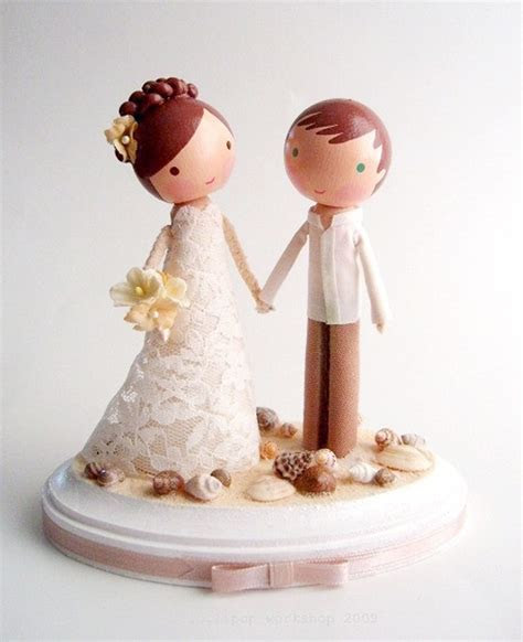 Beach Wedding Cake Toppers 2015 : Romantic and Unique