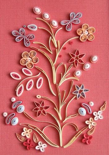 Quilled Ojibway Design