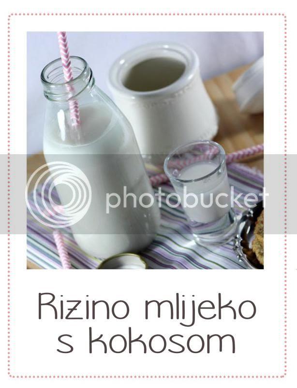 rizino mlijeko s kokosom