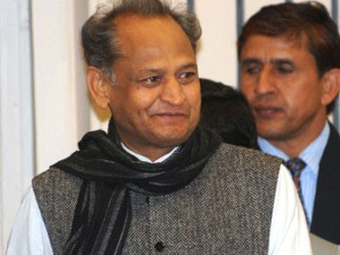 File image of Rajasthan chief minister Ashok Gehlot. AFP