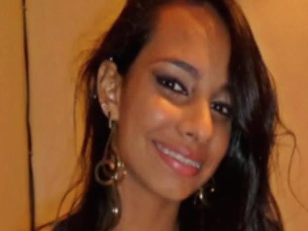 Isadora Aparecida Cândida dos Reis, morta pelo serial killer em Goiânia, Goiás (Foto: Reprodução/ TV Anhanguera)