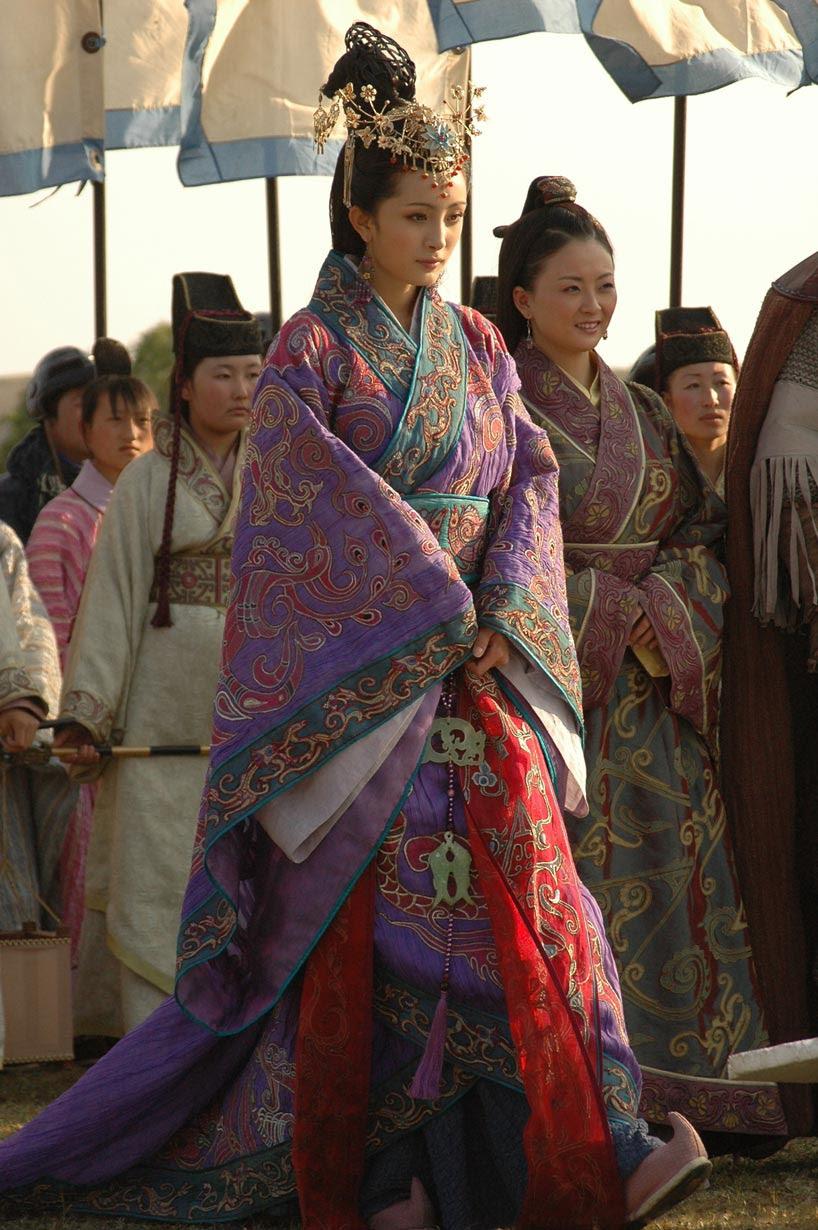 电视连续剧 《王昭君》剧照  (中央电视台 2007)   Fotograma de la teleserie Wang Zhaojun (CCTV, 2007)