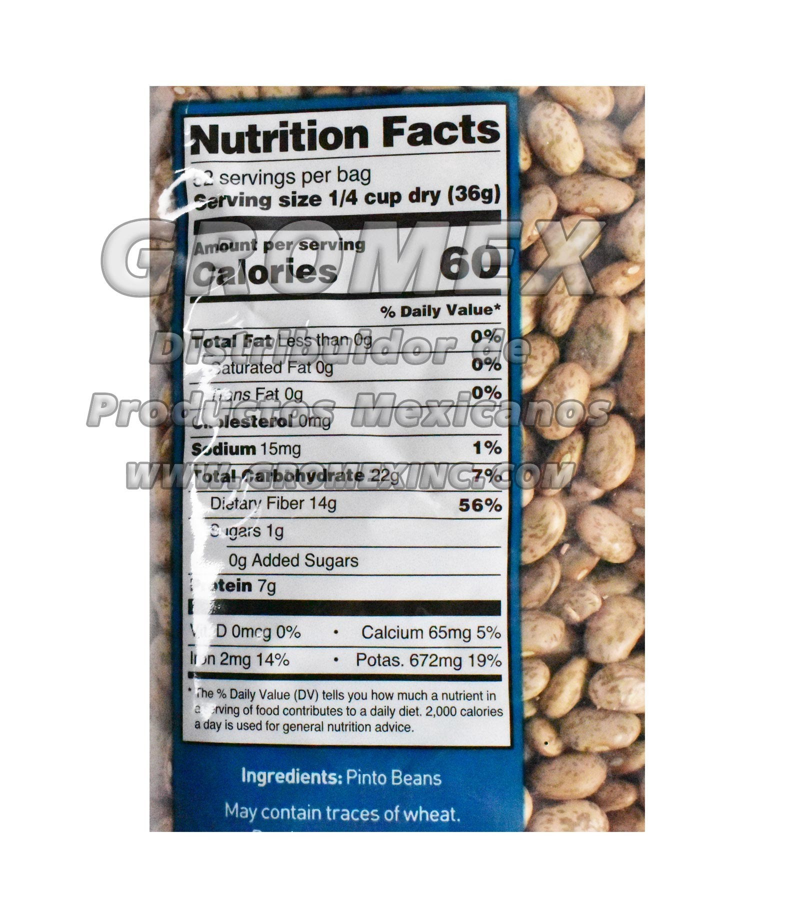 30 Pinto Beans Nutrition Label Labels Database 2020