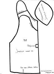 patroon Jumpsuit maat 68 deel 1