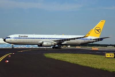 Condor Flugdienst Boeing 767-31B ER WL D-ABUM (msn 25170) (1963 Retrojet) FRA (Ton Jochems). Image: 912871.