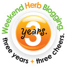 weekend herb blogging