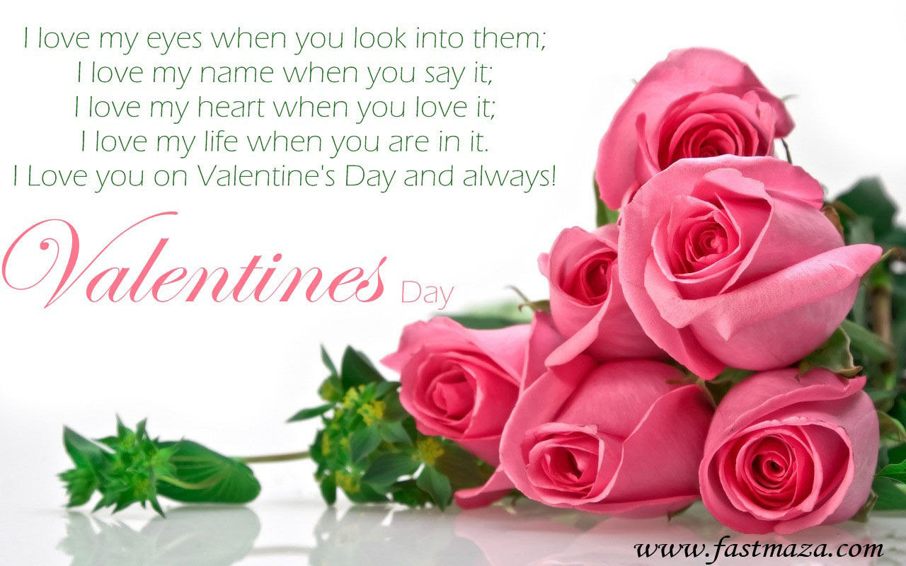 Valentines Day Rose Quote
