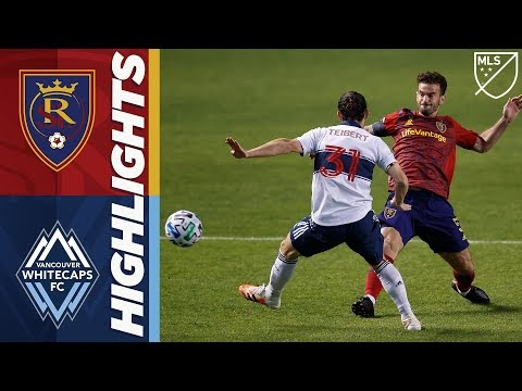 Real Salt Lake vs. Vancouver Whitecaps FC | September 19, 2020 | MLS Highlights