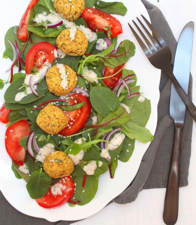 Salat, Falafel