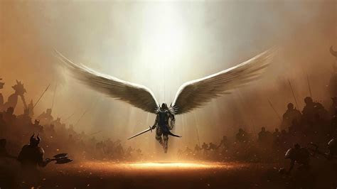 Diablo iii tyrael archangel wallpaper   (35370)