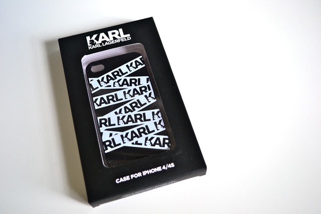 apple iphone 4S karl lagerfeld case allover karl the outnet fashion blogger turn it inside out belgium new in