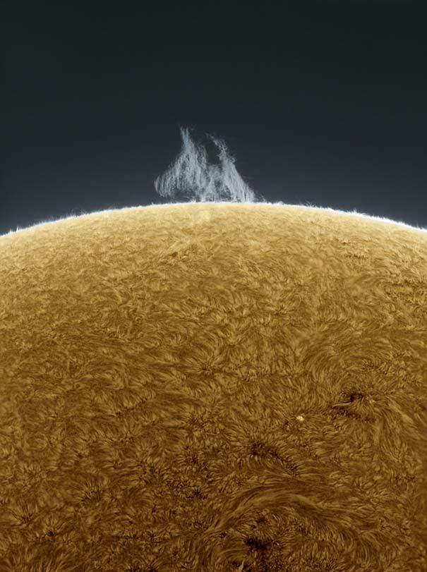 Άνδρας βγάζει απίστευτες φωτογραφίες του Ήλιου από την αυλή του (8)