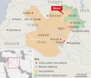 אזורי שליטה בעיראק