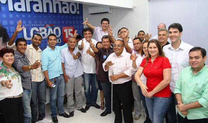 Foto Gilson Teixeira - Lobão Filho recebe lideranças Politicas do PHS de Caxias (1)