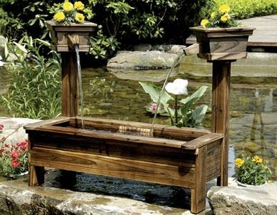 Outdoor Water Fountains - modern - outdoor fountains - other metro ...