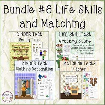 Life Skill Task Bundle #3