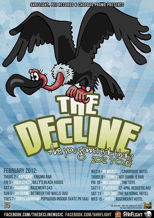 <center>[TOUR] The Decline - Are You Gonna Eat That? 2012 National Tour</center>