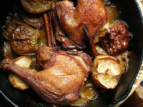 duck w/ apples (batta tufahiyya)