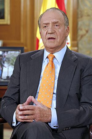 El Rey Juan Carlos durante su discurso. (Foto: EFE)