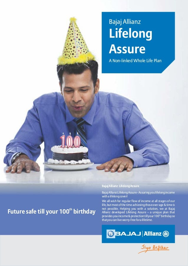 Bajaj Allianz Life Long Assure| Retirement Insurance Solution