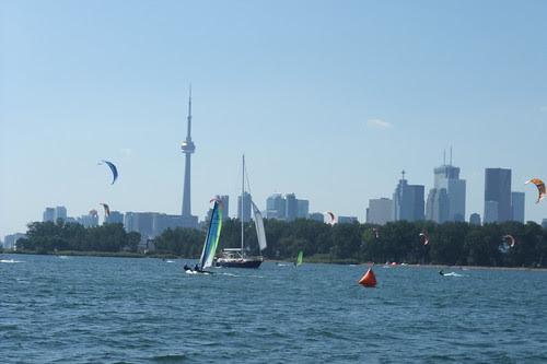 para + windsurfers + sailors