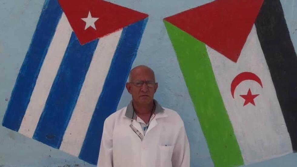 Héctor Aurelio Méndez López, cirujano y Jefe de la Brigada Médica Cubana en los campamentos de refugiados saharauis.