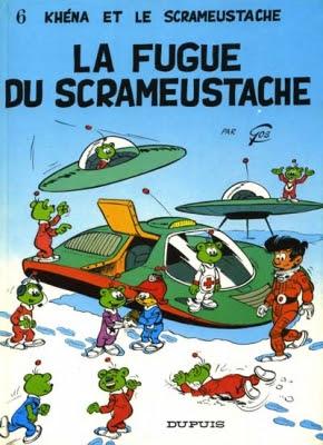 Couverture Le Scrameustache, tome 06 : La Fugue du Scrameustache