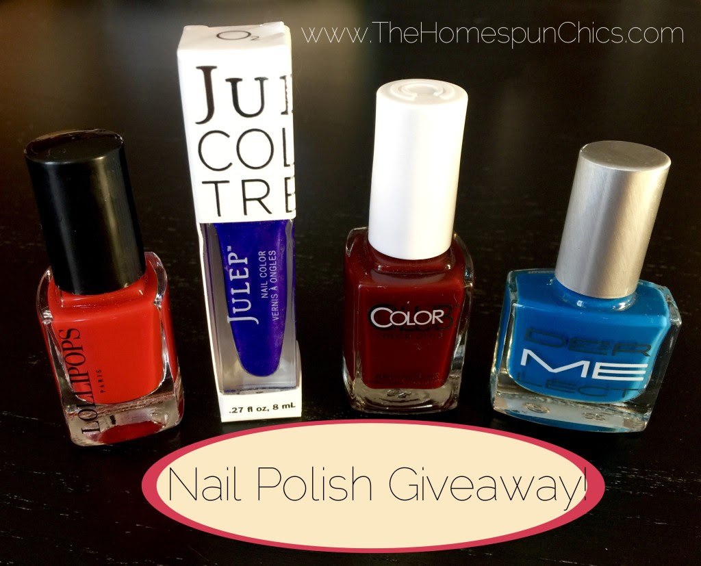 2016.01 Nail Polish Giveaway WM