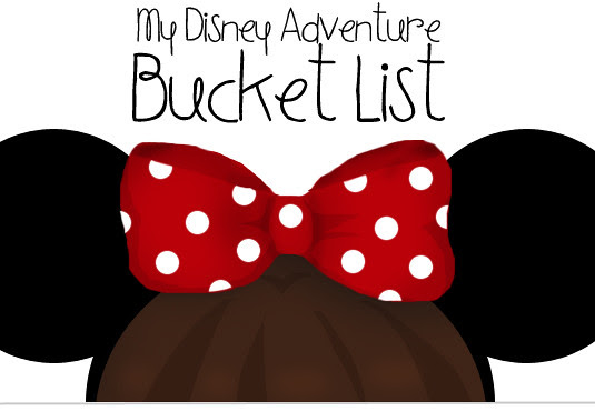 blog lovelymissmegs megan Disney bucket list CRP