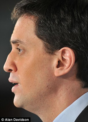 Sunken: The Labour leader this week