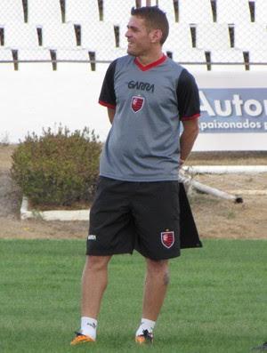 Guarany de Sobral, treino, Junco, Júnior Cearense, técnico, Teco (Foto: Juscelino Filho)