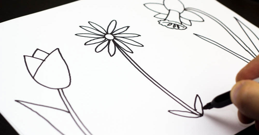 Free Flowers Drawing For Kids Download Free Clip Art Free Clip Art