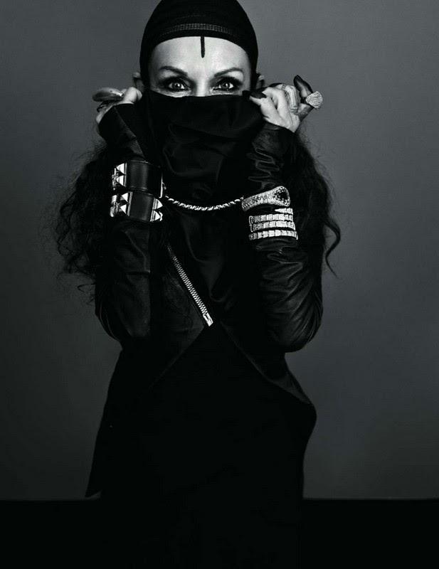 Michele Lamy - Silence - vogue paris
