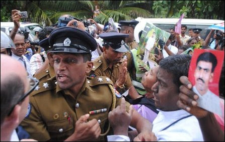 SL military threat against activists, priests