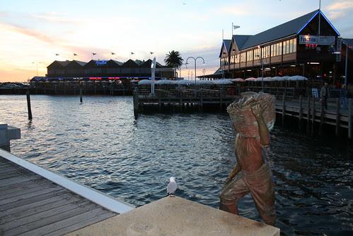 Fremantle wharfs