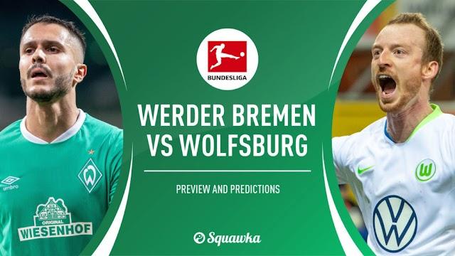 Watch Live Stream Match: Werder Bremen vs Wolfsburg