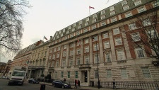 The historic Macdonald House in central London