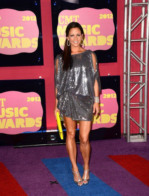 2012 CMT Awards in Nashville, TN - June 6, 2012, Sara Evans