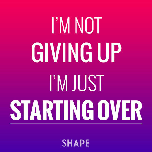 Image result for starting over working out quote